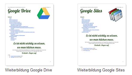 Anleitung Google Drive und Sites