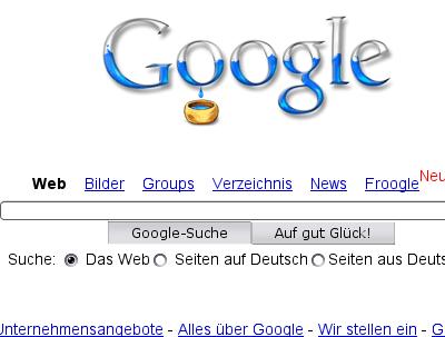 Google und die Ersatzflüssigkeit