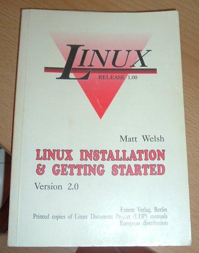 Linux Buch 1993