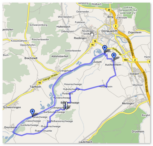 Route Donauroute