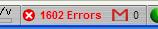 Fehler bei Yahoo-Mail